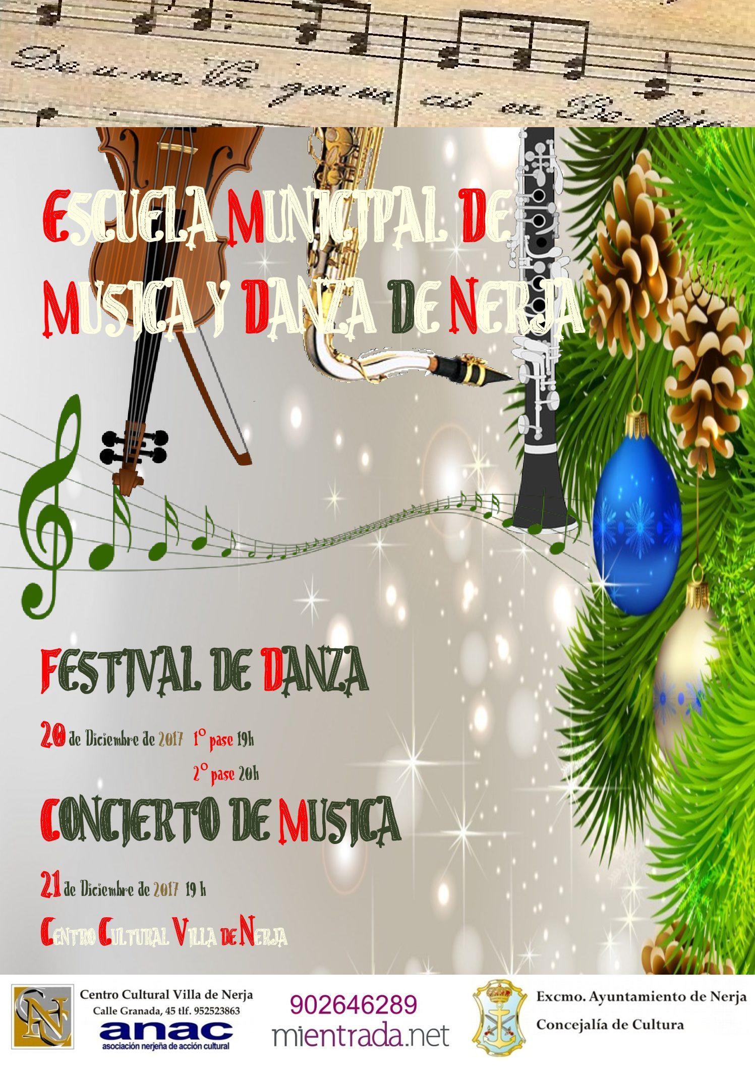 Gala de Navidad. Escuela Municipal de Música y Danza de Nerja.