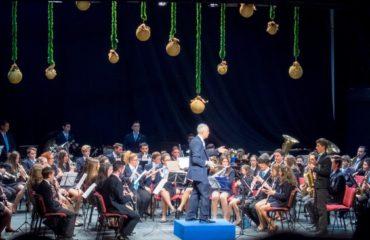 Concierto de Navidad de la Banda Municipal de Nerja.