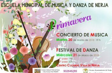 Escuela Municipal de Música y Danza. Festival de Danza