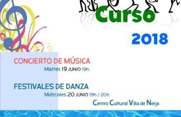 Galas fin de curso de la Escuela Municipal de Música y Danza.