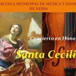 Concierto en honor a Santa Cecilia.