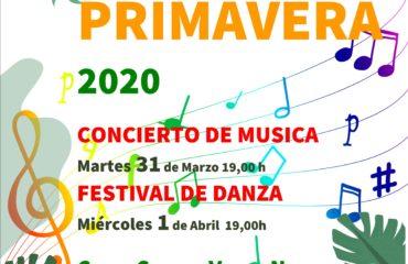 Concierto y Festival de la Escuela Municipal de Música y Danza .