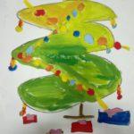 EXPOSICIÓN DIBUJOS NAVIDEÑOS. ESTUDIO DE PINTURA INFANTIL